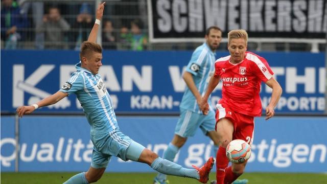 3. Liga: Torshow vom 14. Spieltag