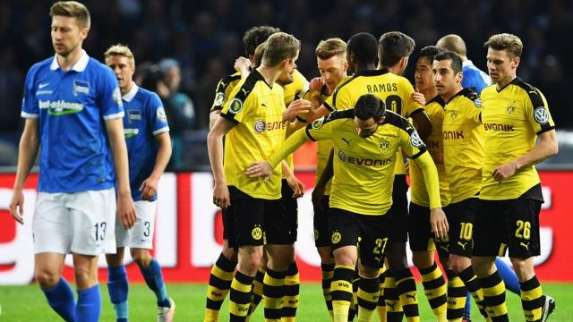 bvb hertha highlights