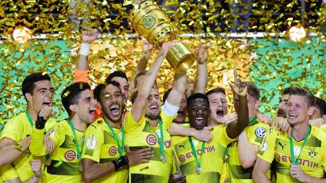 Dfb Pokal Finale Große Emotionen