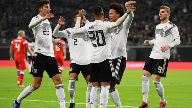 Highlights Germany Vs Russia