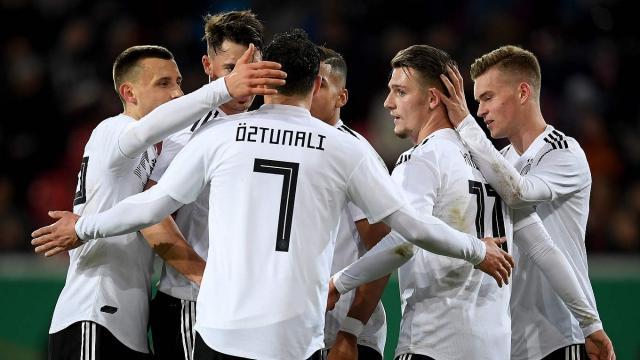 Dfb Jahresrückblick U 21 Nationalmannschaft