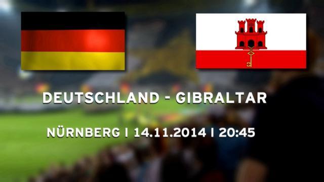 deutschland gibraltar fussball